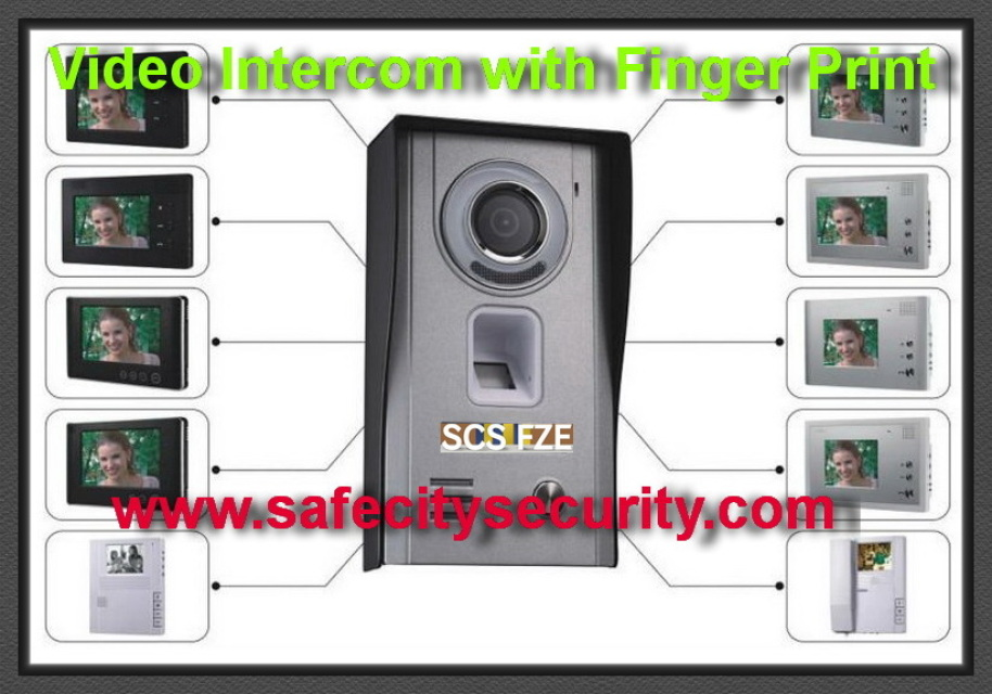 Video Intercom With Finger Print